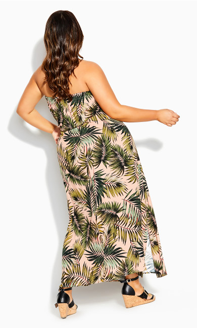 Miami Palm Maxi Dress - palm