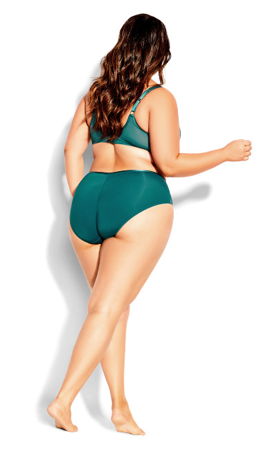 Harper Underwire Bra - forest green
