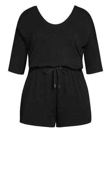 Easy Daze Playsuit - black