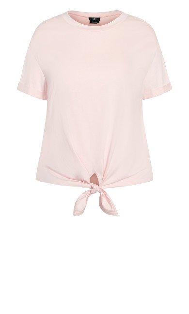 Lounge Tie Top - rose