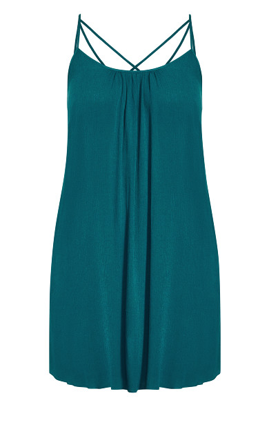 Vacation Dress - teal