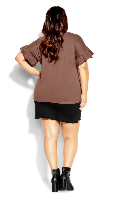 Spirit Sleeve Top - dusk