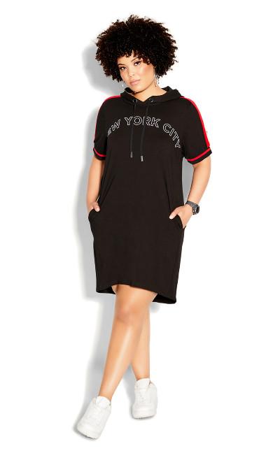About New York Dress - black