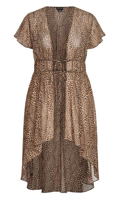Luxe Leopard Jacket -  leopard