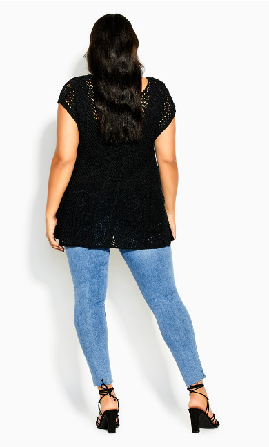 Weave Bliss Top - black