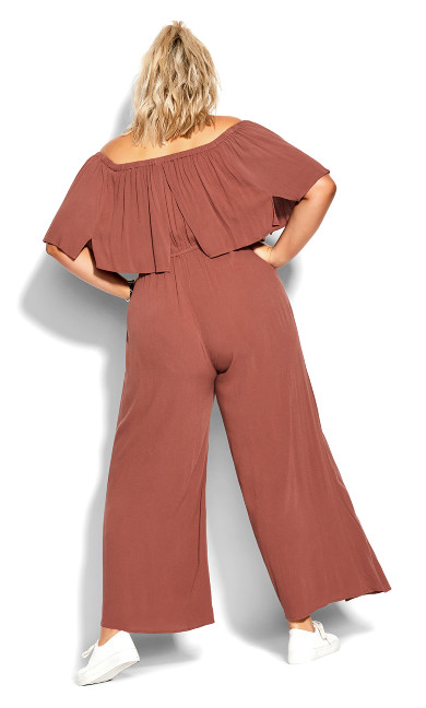 Sunset Jumpsuit - cinnamon