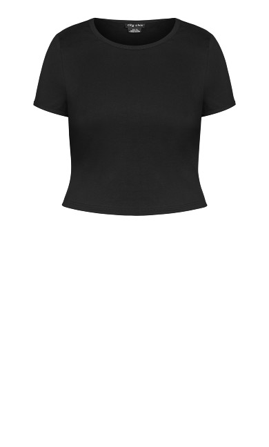 Sweet Basic Tee - black