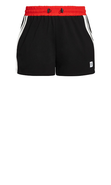 On Track Short - black