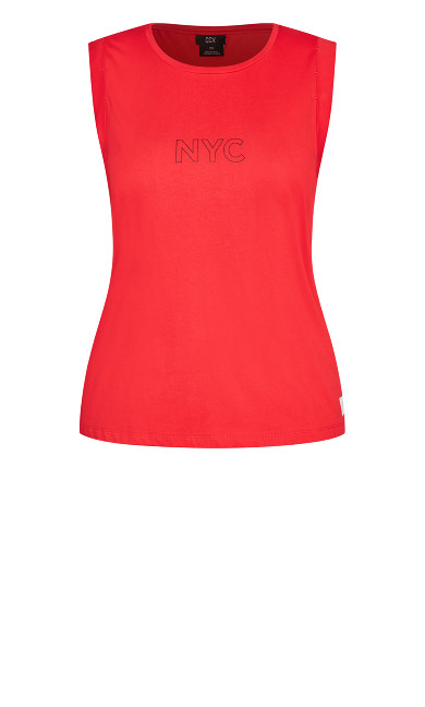 NYC Tank - red
