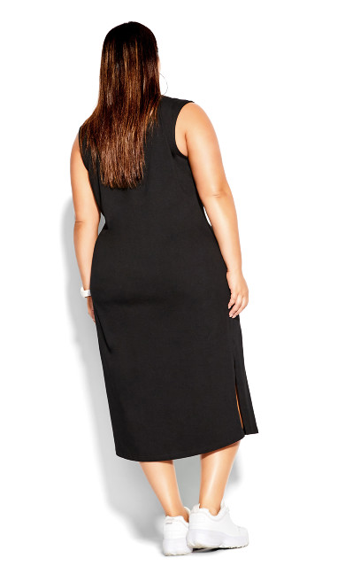 NYC Midi Dress - black