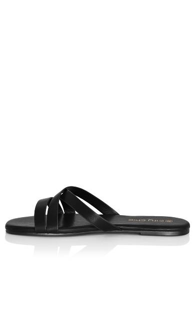 Riassa Slide - black