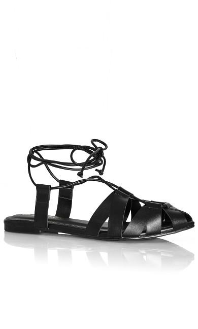 Anais Flat - black