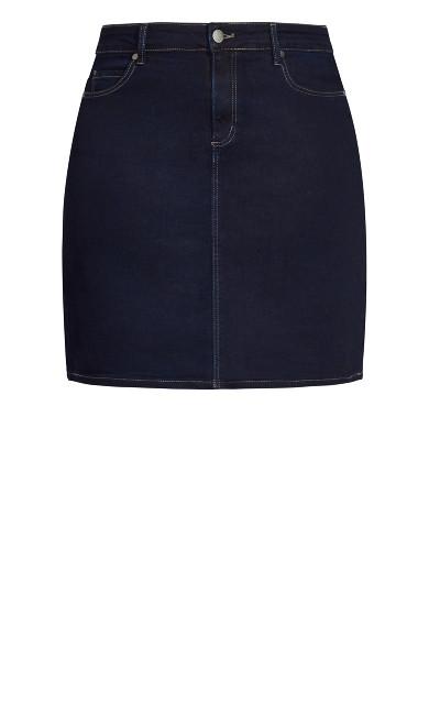 Exemplar Skirt - ink blue