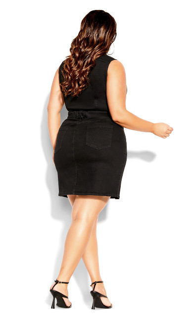 Sashay Away Dress - black wash