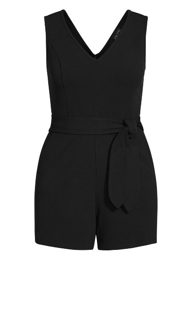 Empire Playsuit - black