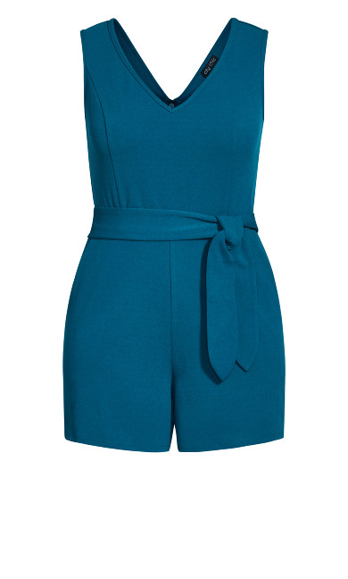 Empire Playsuit - teal