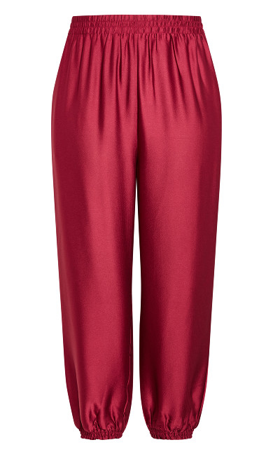 Relaxed Class Pant - sangria