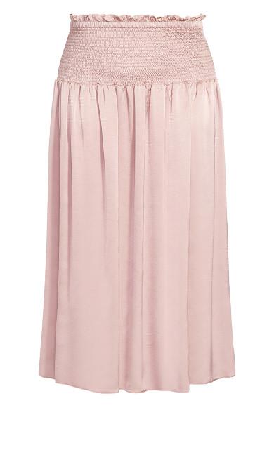Refined Skirt - dusty rose