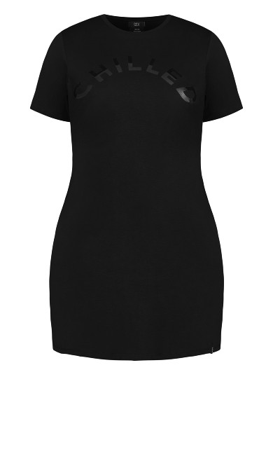 Scoop Everyday Dress - black
