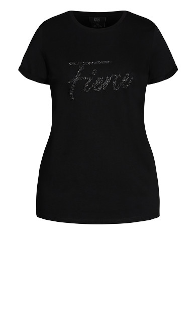 Fierce Tee - black
