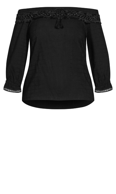 Sweet Explorer Top - black