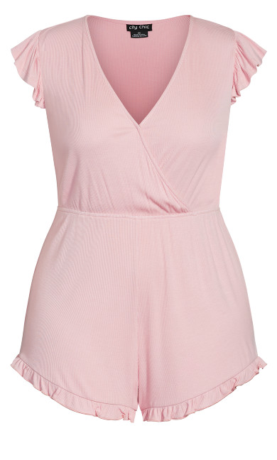 Ellie Sleep Romper - blush