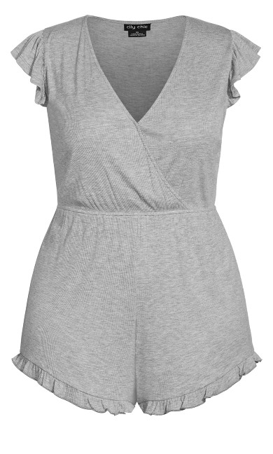Ellie Sleep Romper - grey