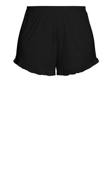 Ellie Sleep Short - black