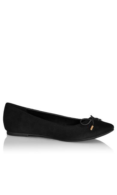 Lila Flat - black