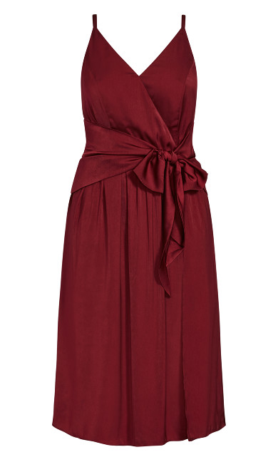 Dreaming Dress - pomegranate