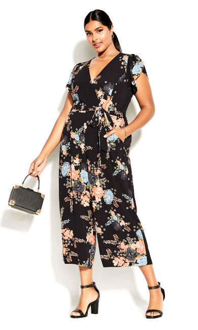 Poised Jumpsuit - black