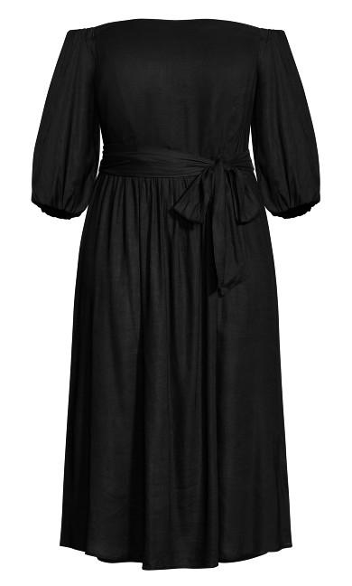Falling In Love Dress - black