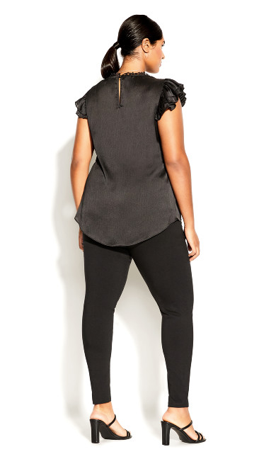 Poised Love Top - black