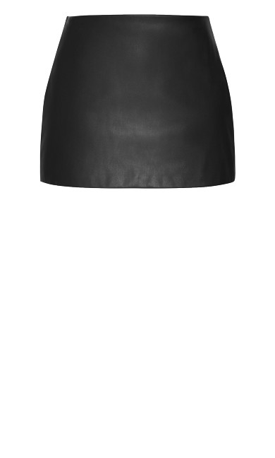 Sleek Love Skirt - black