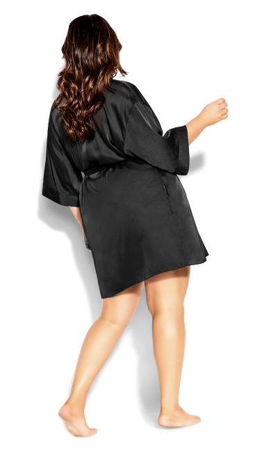 Ally Robe - black