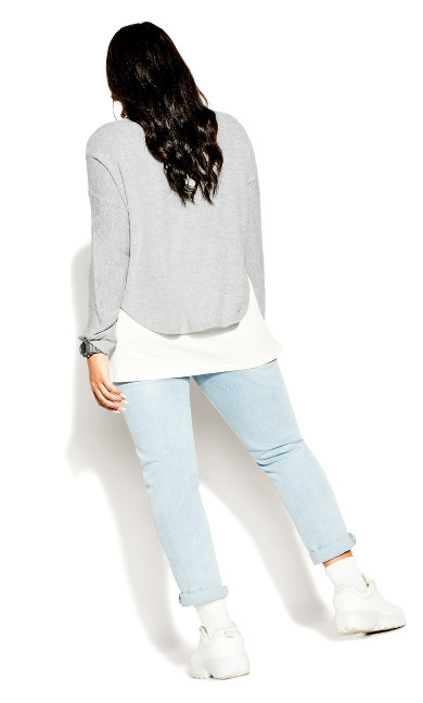 Versatile Jumper - grey