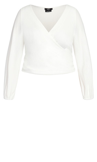 Loved Up Top - ivory