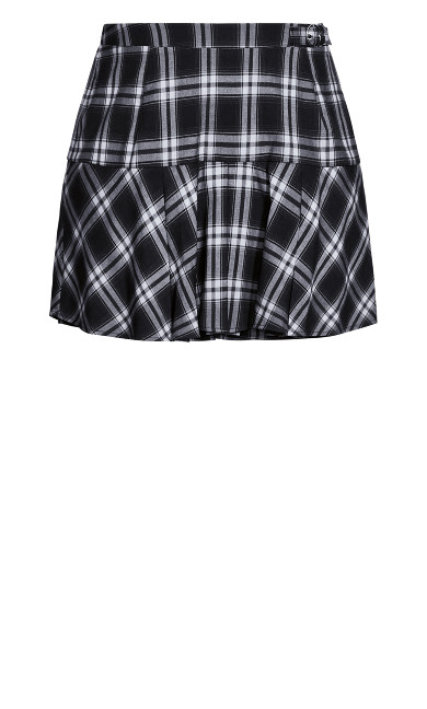 Check In Skort - black