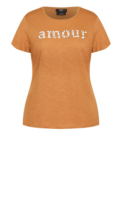 Amour Tee - tawny