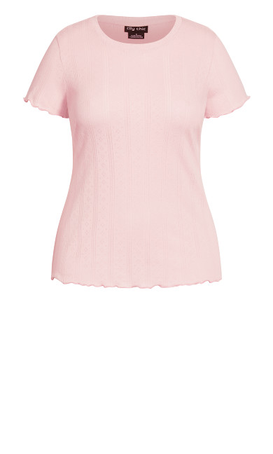Greta Sleep Top - blush