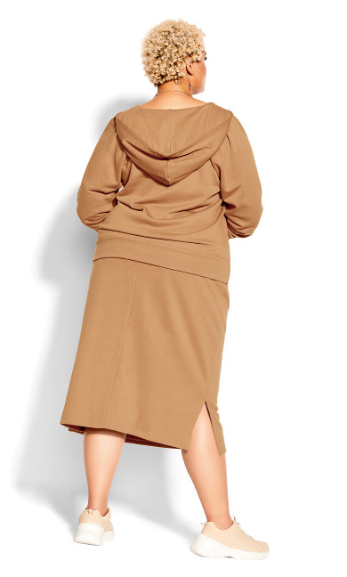 Obsession Skirt - caramel