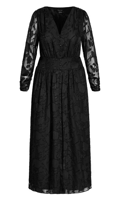 Sweet Sass Dress - black