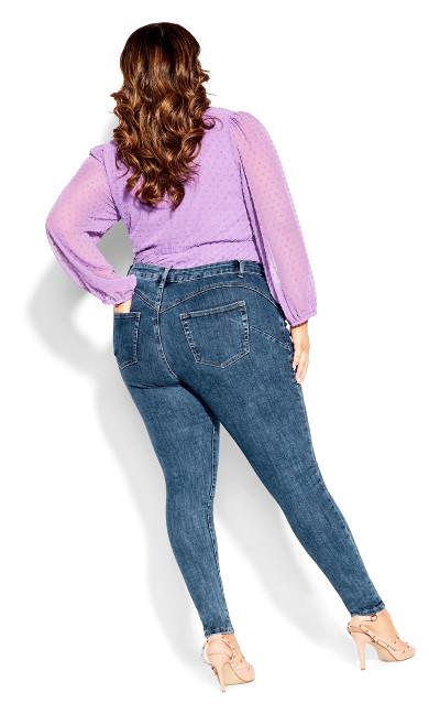 Harley Wild Side Jean - sapphire denim