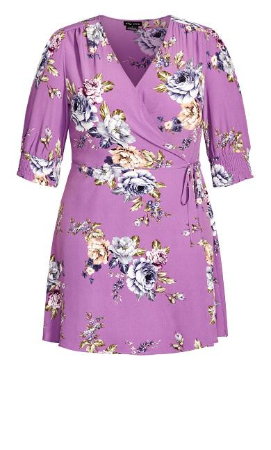 Rose Garden Dress - lilac