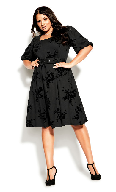 Wild Heart Dress - black