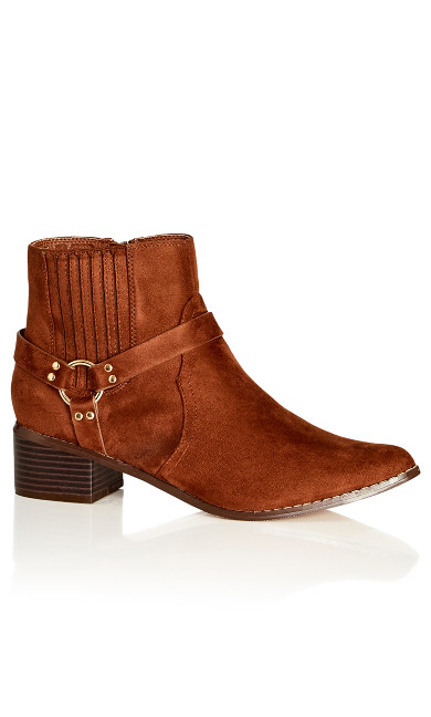 Anete Boot - chocolate