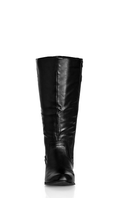 Cilla Knee Boot - black