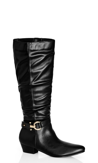 Rialta Knee Boot - black