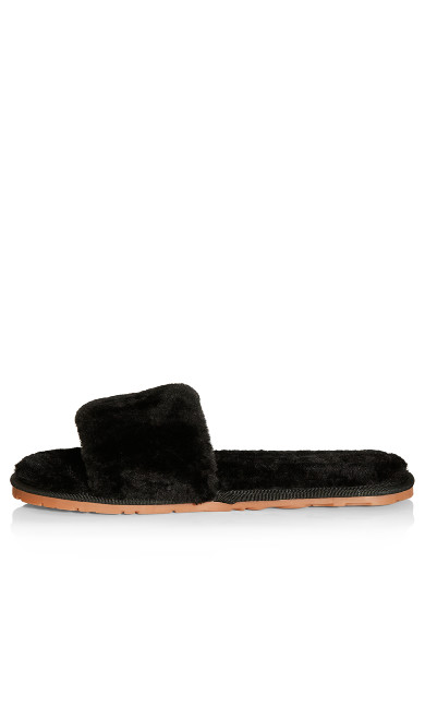 Luxe Slipper - black