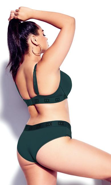 CCX Moulded Contour Bra - emerald